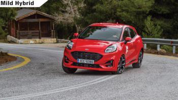 Δοκιμή: Νέο Ford Puma mHEV 155 PS