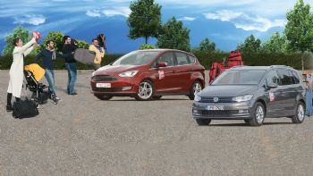 Ford C-MAX vs VW Touran