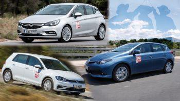 Opel Astra VS VW Golf VS Toyota Auris