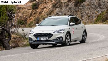 Δοκιμή: Ford Focus Active mild hybrid με 155 PS
