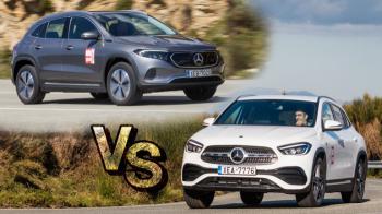 EQA Vs GLA 250e: Ηλεκτρική ή Plug-in Mercedes στα ίδια λεφτά;