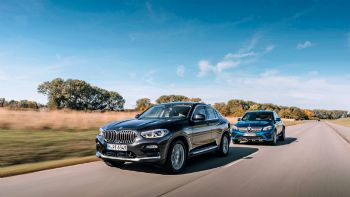 BMW X4 vs  Mercedes GLC Coupe