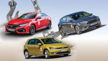 Ford Focus Vs Honda Civic Vs VW Golf