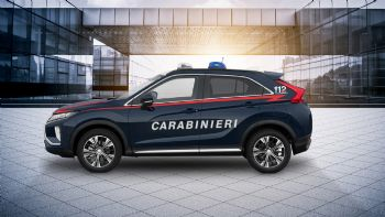 To Mitsubishi Eclipse Cross των Carabinieri