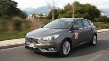 Aνανεωμένο Ford Focus 1,5 TDCi 120 PS