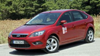 Δοκιμή Ford Focus 1,6 115 PS
