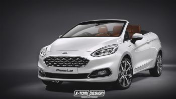 Νέο Ford Fiesta Cabriolet