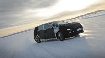 Το Hyundai i30 στα χιόνια