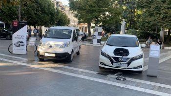 Τα Nissan LEAF & e-NV200 στην Εβδομάδα Κινητικότητας