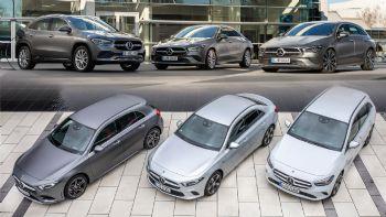 Ποια Mercedes που καίει μόλις 2 λτ. να αγοράσω;