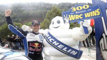 Την  300η νίκη της απέσπασε η Michelin στο FIA WRC
