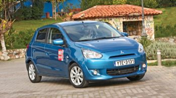 Δοκιμή: Mitsubishi Space Star 1,2 CVT