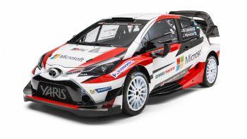 Mεγάλη επιστροφή στο WRC η Toyota