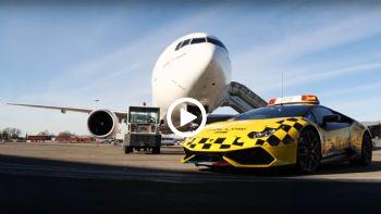 Η Huracan του αεροδρομίου