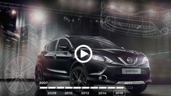 10 χρόνια Nissan Qashqai