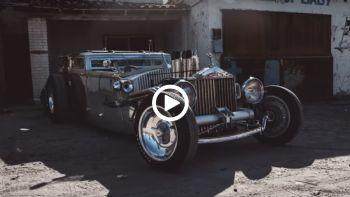 Rolls-Royce έγινε Rat Rod
