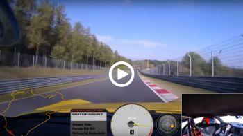H νέα Porsche 911 GT3 στο Ring