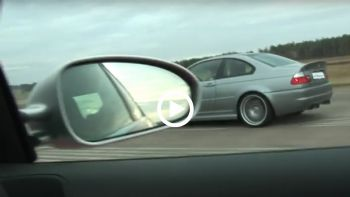 BMW M3 CSL vs Audi RS4