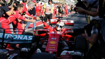 Με το δεξί η Ferrari στην F1 2017