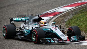 Ο Hamilton στην pole του GP Κίνας
