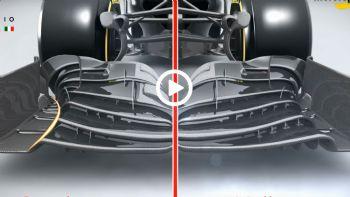 H μαγεία της αεροδυναμικής στην F1 (+vid)