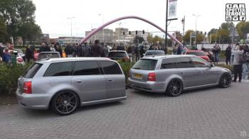 RS4 Avant με trailer RS4 Avant (+video)