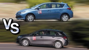 Toyota Auris vs Citroen C4