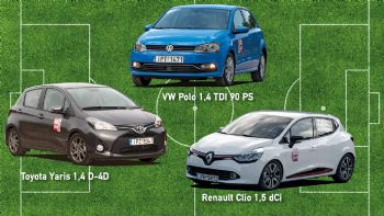 Polo Vs Clio Vs Yaris