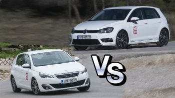 Peugeot 308 Vs VW Golf