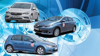 Astra 1,0 vs Auris 1,2T vs Golf 1,0 TSI