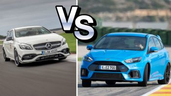 Focus RS vs A45 AMG