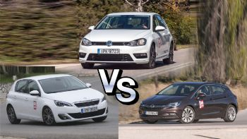 308 vs Astra vs Golf