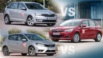 C4 Vs Pulsar Vs Rapid SpaceBack