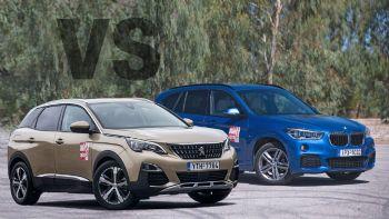 Peugeot 3008 vs BMW X1