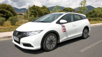 Δοκιμή: Honda Civic Tourer 1,6 i-DTEC