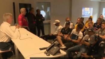 Briefing των πιλότων της F1 μετά από 20 χρόνια