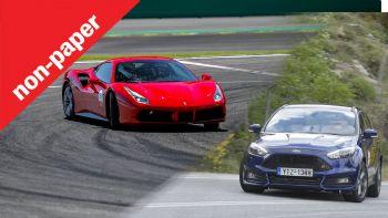 Θα αγόραζες μια Ferrari με τα λεφτά ενός Ford Focus;