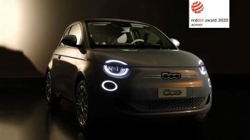 Διάκριση για το ηλεκτρικό Fiat 500 στο «Red Dot Award 2020»