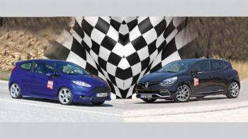 Fiesta ST vs Clio RS