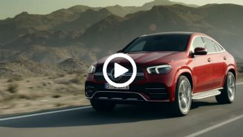 Vid: Mercedes-Benz GLE Coupe facelift