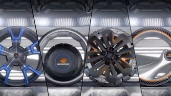 Εντυπωσιακά τα ελαστικά του μέλλοντος (VIDEO)