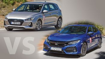 Ηyundai i30 Vs Honda Civic