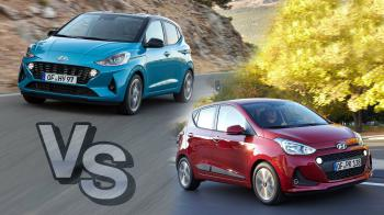 Hyundai i10: Old Vs New