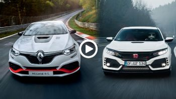Μάχη στο Ring: Renault Megane RS Trophy R Vs Honda Civic Type R