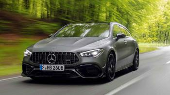 Νέα Mercedes-AMG CLA 45 Shooting Brake