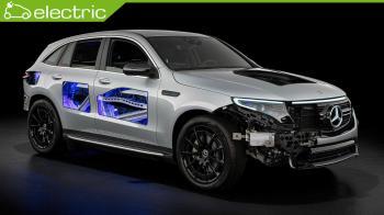 Η Mercedes δημιούργησε μία see-through EQC