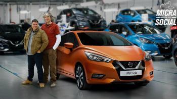 Το νέο Nissan Micra διαμορφώνεται LIVE στο εργοστάσιο