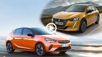 Video: Opel Corsa Vs Peugeot 208