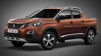 Scoop: Peugeot Pick-Up