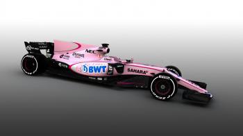 Η Force India βάφτηκε ροζ